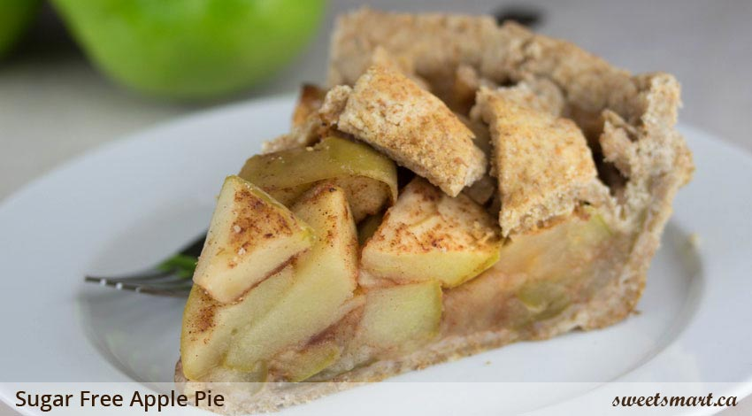 Low Sugar Apple Pie