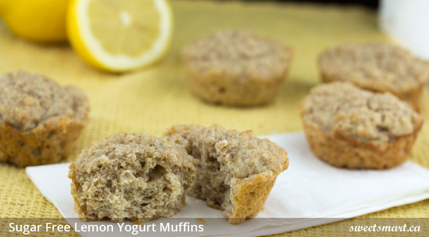 mini lemon yogurt sugar muffins lemon yoghurt muffins with two types ...