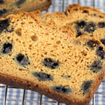 Sugar Free Gluten Free Blueberry Bread