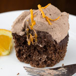 Sugar Free Chocolate Orange Cupcakes