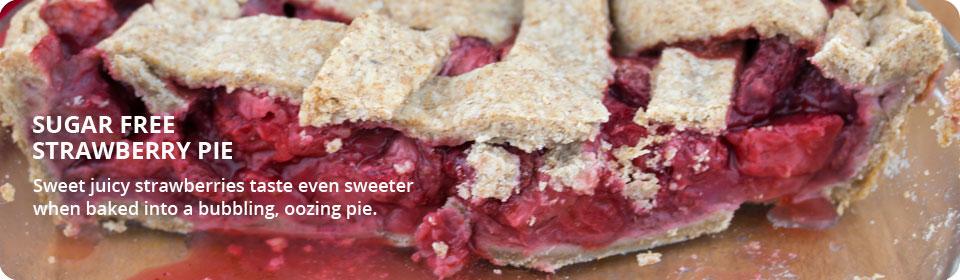 Sugar free   strawberry-pie