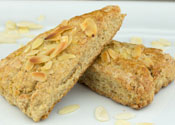 Low Sugar Almond Scones