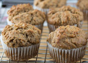 Low Sugar Applesauce Spice Muffins