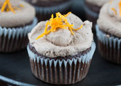 Low Sugar Chocolate Orange Cupcakes
