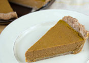 Low Sugar Pumpkin Pie