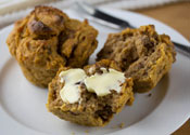 Low Sugar Sweet Potato Muffins